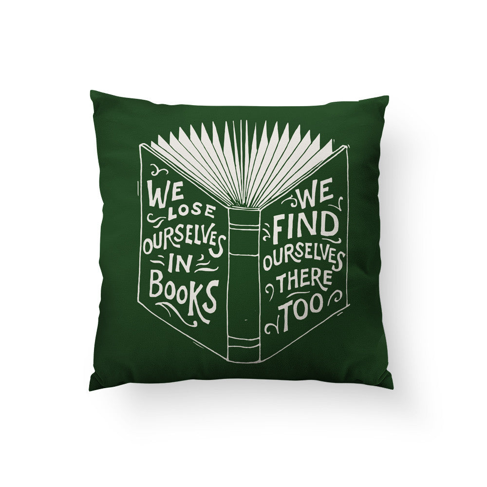 We Lose Ourselves Throw Pillow