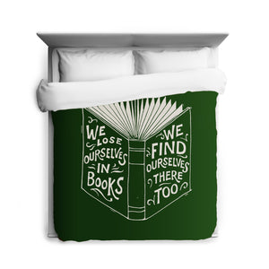 We Lose Ourselves Duvet Cover