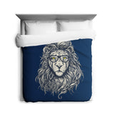 Hipster Lion Duvet Cover