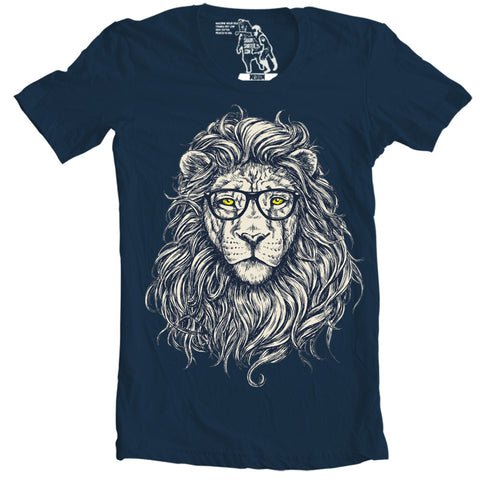 hipster lion animal t-shirts