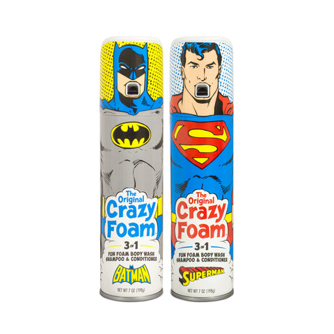 DC Originals Batman & Superman Crazy Foam