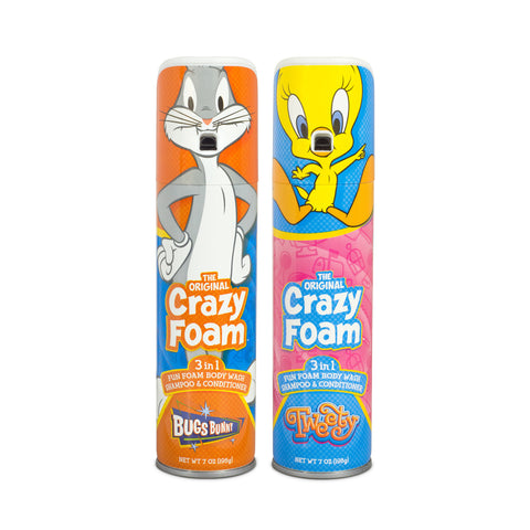 Looney Tunes Bugs Bunny & Tweety Bird Crazy Foam