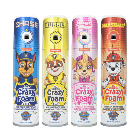 PAW Patrol Crazy Foam 4 pack