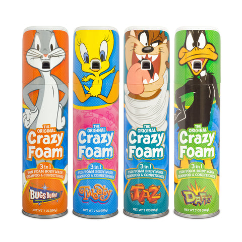 Looney Tunes Crazy Foam