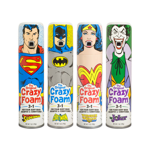 DC Comics Originals Crazy Foam