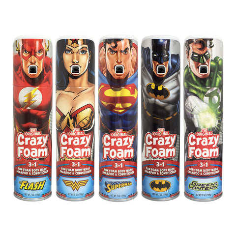 DC Comics Justice League Crazy Foam