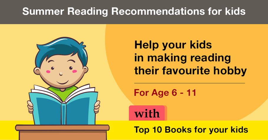 10 Books to read for your child - Age 6 - 11