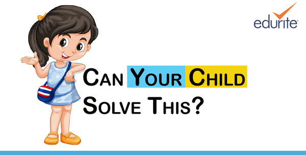 Can your child solve this?
