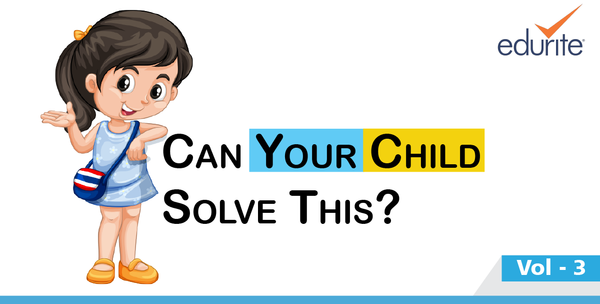 Can your child solve this
