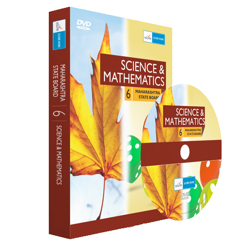 Edurite MH Board Class 6 Maths And Science Combo DVD