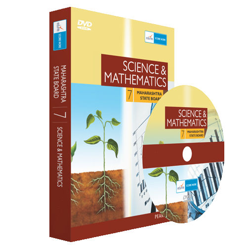 Edurite MH Board Class 7 Maths and Science Combo DVD