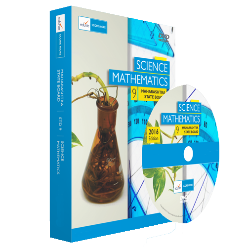 Edurite MH Board Class 9 Maths And Science Combo DVD
