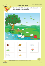 Load image into Gallery viewer, Edurite UKG Super Combo Worksheets- (Maths, English, General Awareness and Hindi Worksheets All in One)