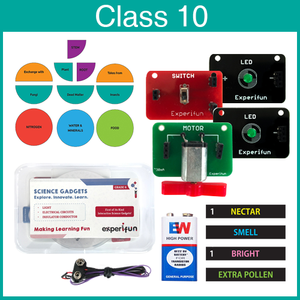 Experifun Science Kit for Class 10
