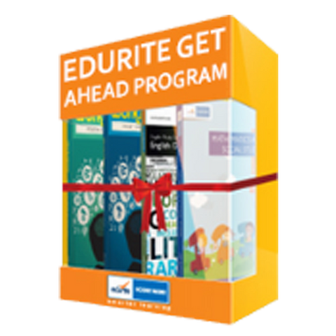 Edurite Get Ahead Program For Class 4 (Super Saver Bundle)