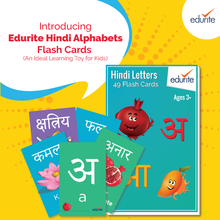 Load image into Gallery viewer, Edurite Hindi Alphabets Flash Cards - an Ideal Learning Toy for Kids