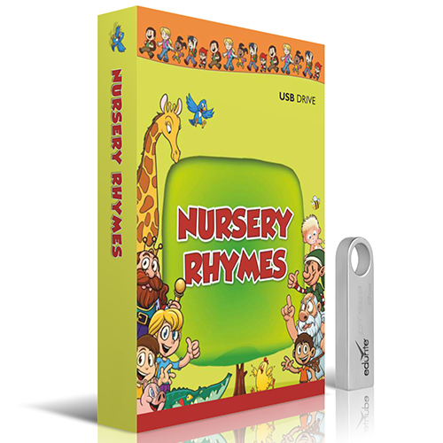 Edurite Nursery Rhymes for Kids DVD/USB