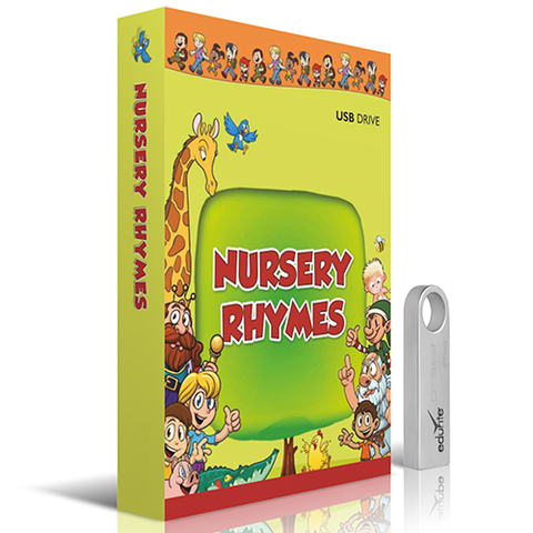 Nursery Rhymes for Kids DVD/USB - CBSE / ICSE / All State Board