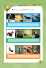 Load image into Gallery viewer, Edurite Class 3 Environmental Science Worksheets
