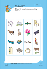 Load image into Gallery viewer, Edurite Learn English Pack for Kids Basic (3 Book Combo, Ideal for Age 3- 6)