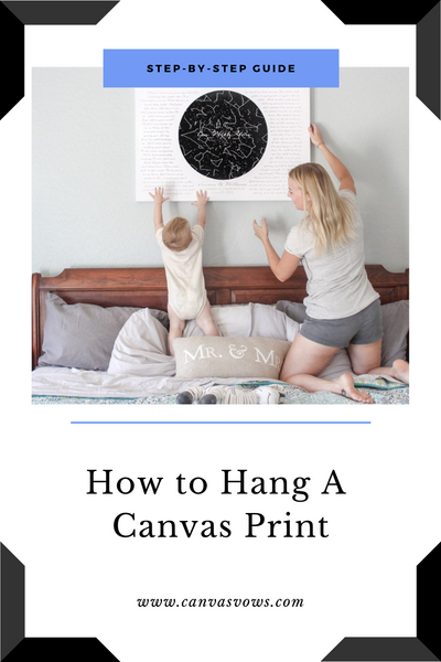 How To Hang A Canvas Print (Step-by-Step Guide)