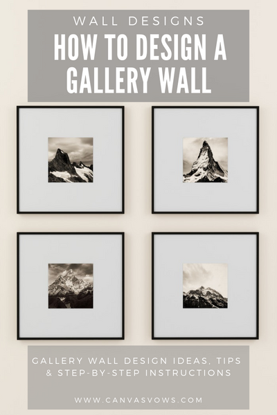 Wall Designs: How To Design A Gallery Wall