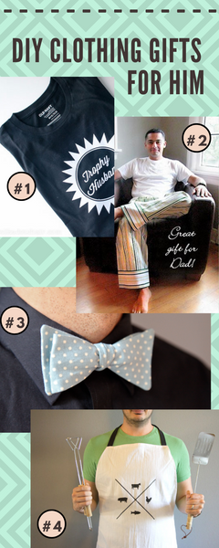 diy clothing gifts for him