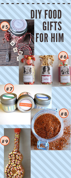 diy food gifts for him