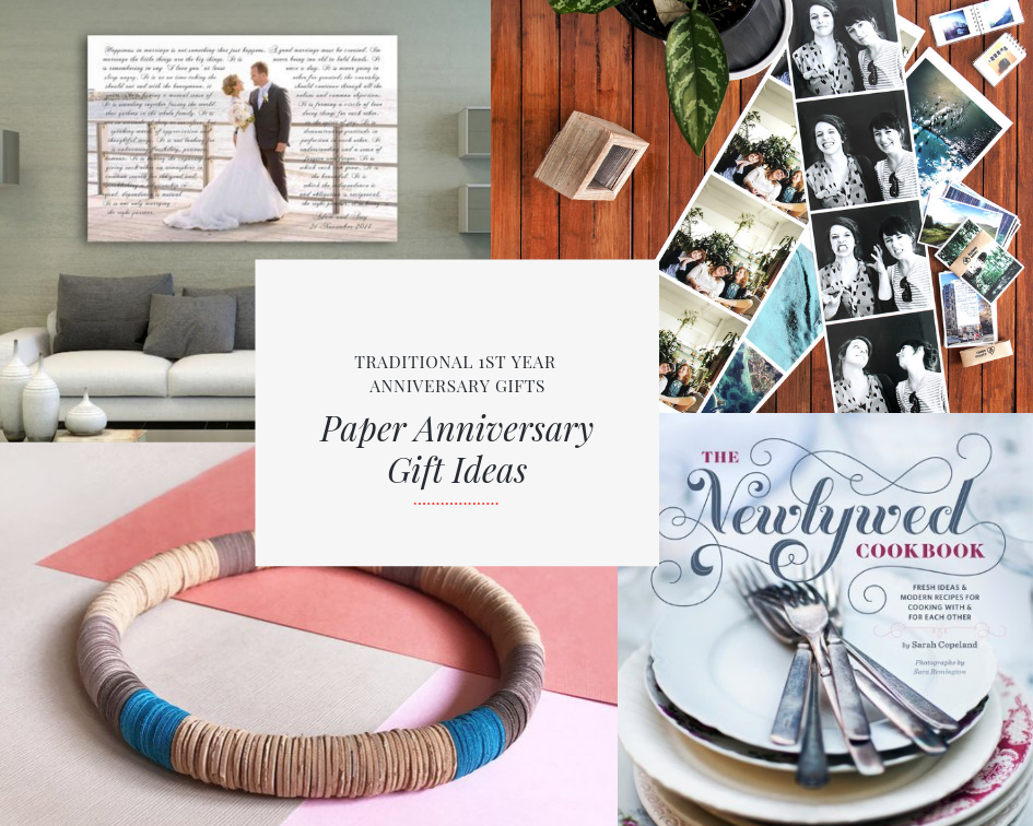 paper anniversary gift ideas