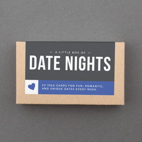 a little box of date nights