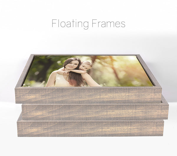 canvas floater frame