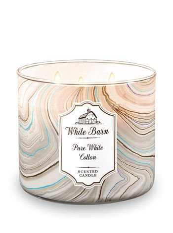 cotton scented candles
