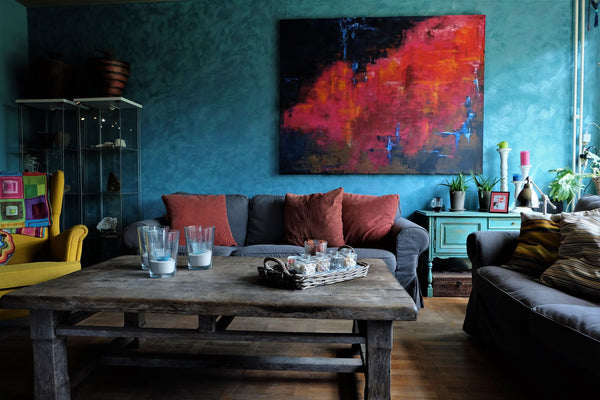 eclectic interior design