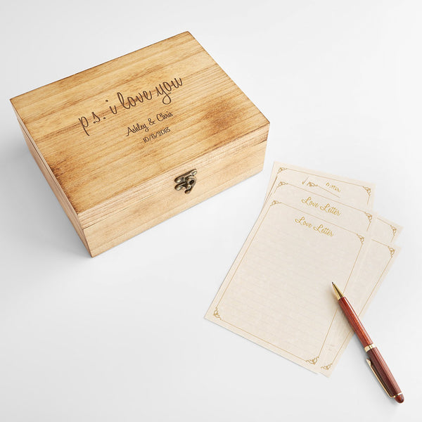 love letter keepsake box