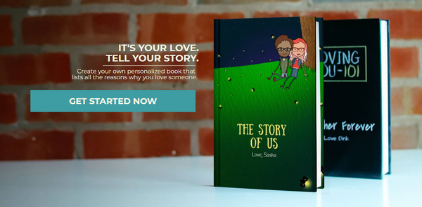 personalized lovebook