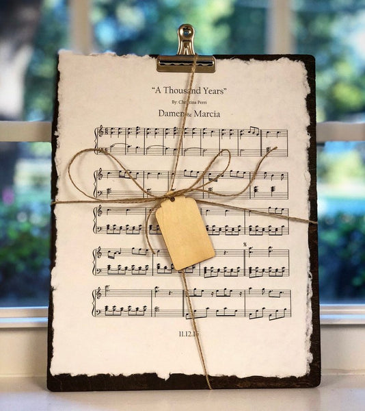 romantic sheet music