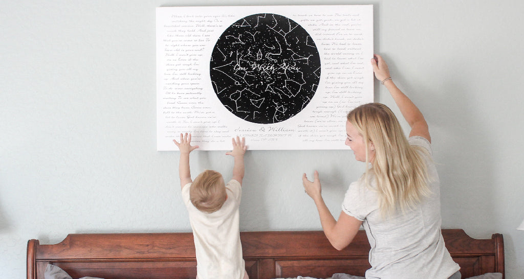 Custom Star Map Canvas