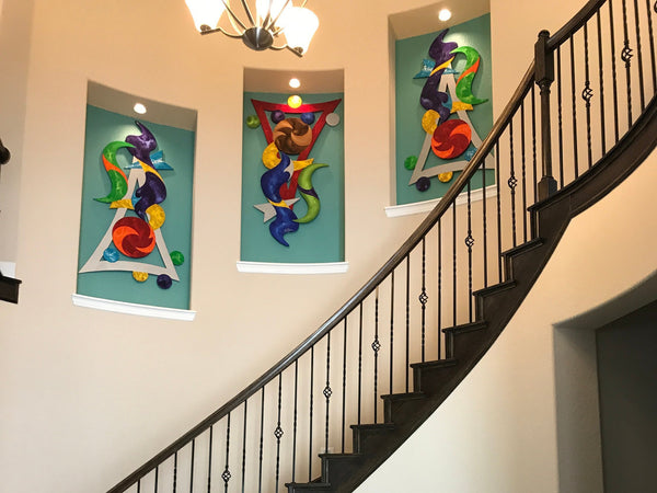wall sculptures diva art