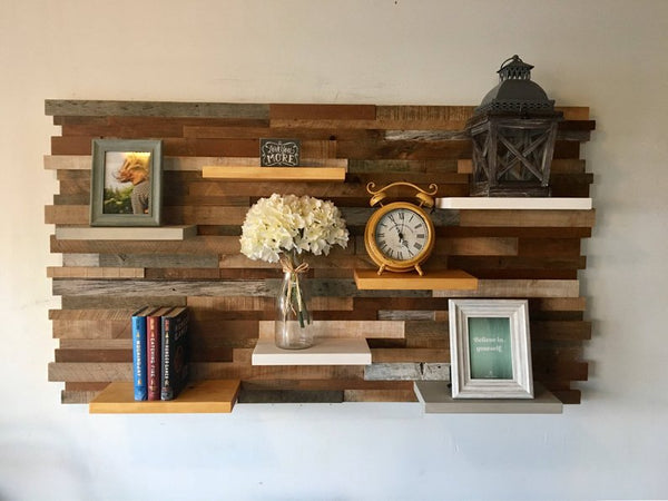 wood wall art simply crafted design