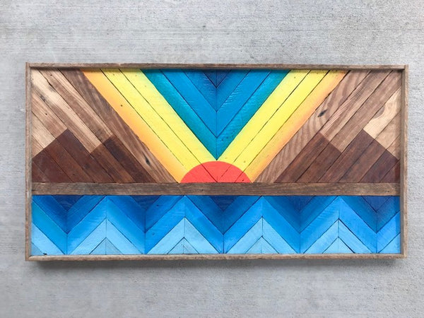wood wall art solstice woodworks