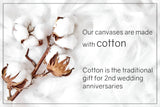 Cotton Anniversary Gift