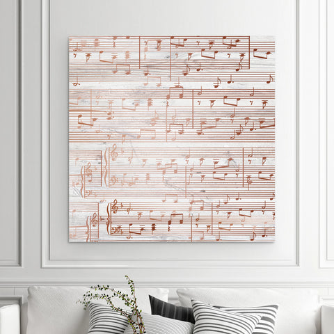 First Dance Song Canvas - A Design Covering The Entire Canvas With Lyrics