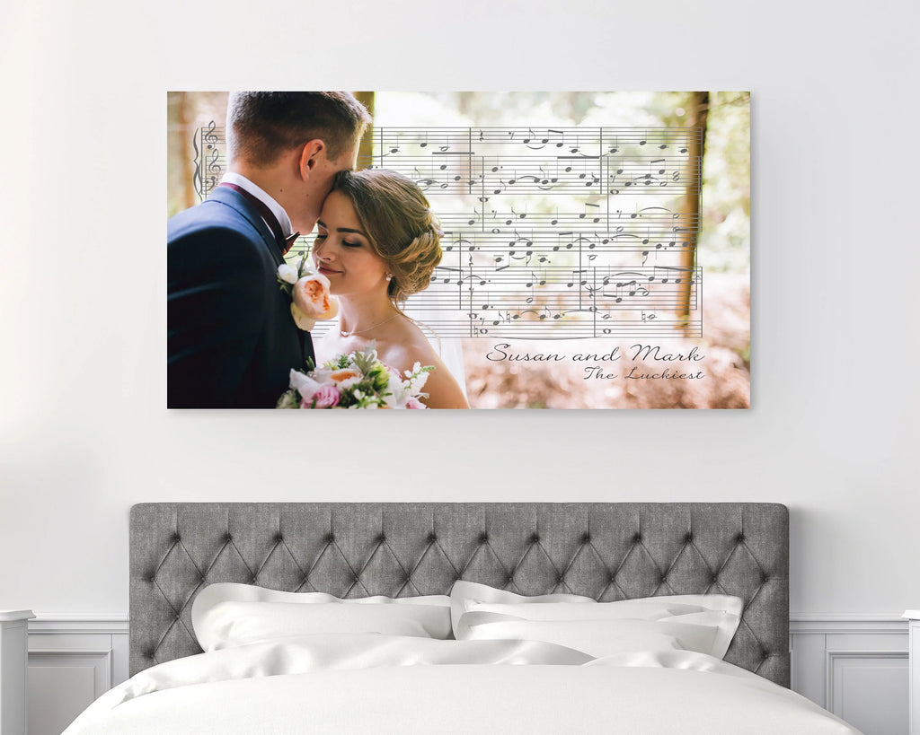 First Dance Song Sheet Music Canvas