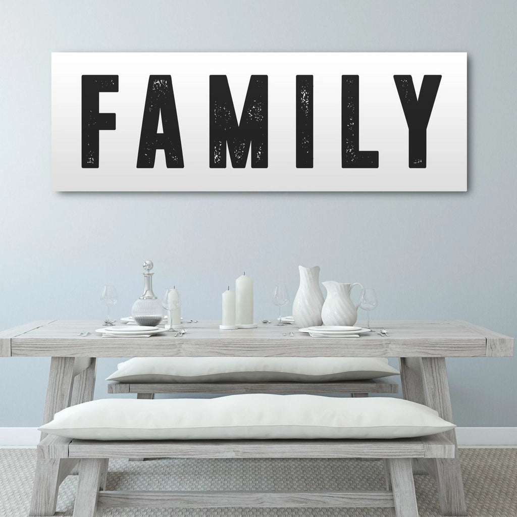 Family Home Decor Canvas - Canvas Vows