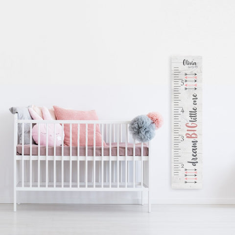 Ballerina - Girls Growth Chart Ruler