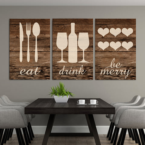 Family Home Decor Canvas