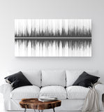 Split Soundwave Canvas