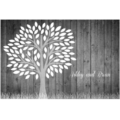 Wedding Guest Book - Large Heart Alternative