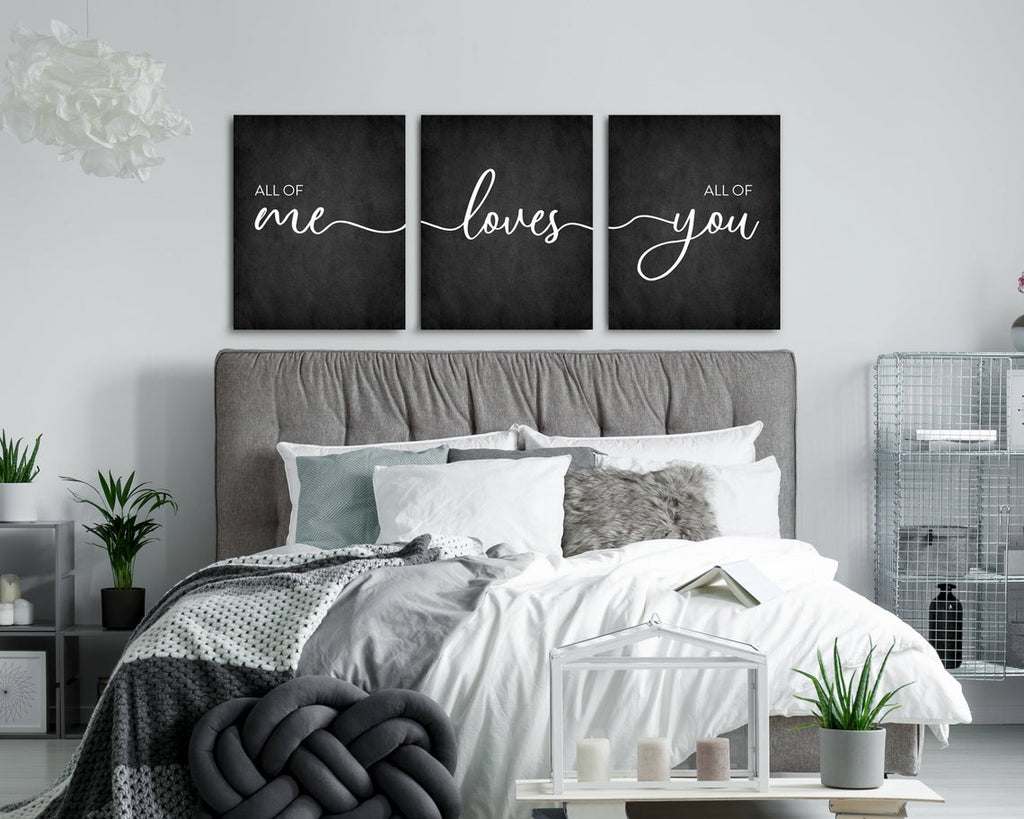 All Of Me Loves All Of You Wall Art