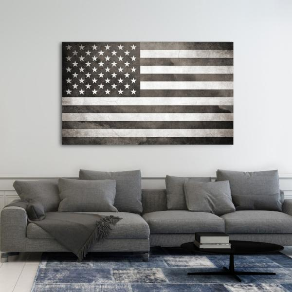 American Flag Canvas - Canvas Vows